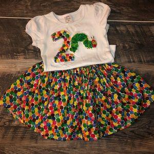 Other - The Very Hunger Caterpillar Outfit Skirt & Shirt